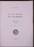 10. suppl: La Val Devero ed i suoi minerali. Atlante 1932