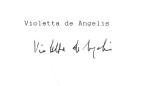 De Angelis, Violetta
