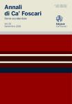 Annali di Ca' Foscari. Serie occidentale. Vol. 53 – Settembre 2019