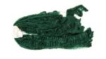 TOW Verde scuro lungo. Prodotto grezzo di lavorazione