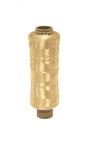 ROCCHETTO Cod. 3638/1-NA Bianco dorato. Mini Tow prodotto in laboratorio