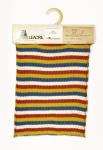"""Campione denominato """"Pattern"""" o """"Testane""""  tessuto in filato Leacril®. Motivo a righe"""