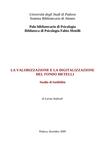 La valorizzazione e la digitalizzazione del Fondo Metelli . studio di fattibilità