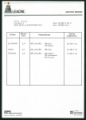 Leacril Inverno '85/86 Allegato 3. Listino prezzi