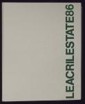 Leacril Estate 86. Catalogo commerciale