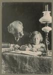 Fotografia di Enrico Bernardi con la nipote Ancilla