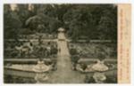 Padova, R. Orto botanico, veduta della parte centrale