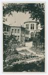 Padova, R. Orto botanico . L' edificio della Direzione e dei Laboratorii