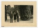 Orto botanico di Padova, 1943. W. Simoff, Del Neri, Giuseppe Gola