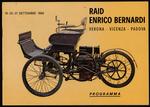 Opuscolo: Raid Enrico Bernardi. 19-20-21 Settembre 1969. Programma