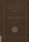 Annuario del R. Istituto superiore di scienze economiche e commerciali di Venezia per l'anno accademico 1923-24. LVI dalla fondazione