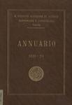 Annuario del R. Istituto Superiore di Scienze Economiche e Commerciali di Venezia per l'anno accademico 1928-1929. LXI dalla fondazione