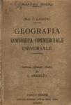 Geografia economica commerciale universale . Settima edizione (1923)