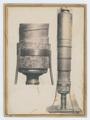 Microscopio composto di Eustachio Divini (1671) - recto