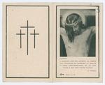 Ricordo funebre di Giuseppe Caron - recto