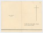 Ricordo funebre di Cristiano Rigon - recto