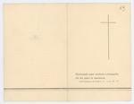 Necrologio di Alberto Franco e Piero Franco - recto
