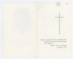 Necrologio di Giacomo Chilesotti - recto