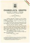 Ricordo funebre di Evangelista Groppo