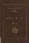 Annuario del R. Istituto Superiore di Scienze Economiche e Commerciali di Venezia per l'anno accademico 1930-1931. LXIII dalla fondazione