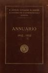 Annuario del R. Istituto Superiore di Scienze Economiche e Commerciali di Venezia per l'anno accademico 1932-1933. LXV dalla fondazione