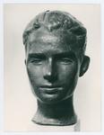 Ritratto in bronzo di Luigi Pierobon - recto