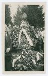 Cerimonia della consegna della medaglia d'oro alla memoria di Giovanni Carli. Il ritratto scultoreo in memoria di Giovanni Carli
