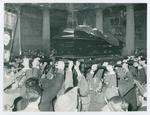 Funerale di Egidio Meneghetti. Marzo 1961
