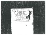 Lapide che ricorda il martirio di Ottavio Cuccato. Casale di Scodosia