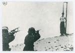 Condanna a morte di un partigiano. L'esecuzione