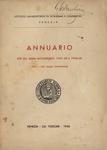 Annuario per gli anni accademici 1941-42 e 1942-43 / Istituto universitario di economia e commercio, Venezia.  LXXIV e LXXV dalla fondazione