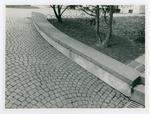 Campo di concentramento di Bolzano. Il cortile del corpo d'armata