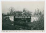 Ponte della ferrovia Vicenza - Schio nelle vicinanze di Povolaro