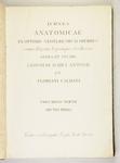 Icones Anatomicae ex Optimis Neotericorum operibus summa diligentia depromptae et collectae. Opera et Studio.