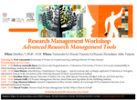 Italian Research Management Workshop. Advanced Research Management Tools 2015