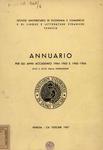 Annuario per gli anni accademici 1964-65 e 1965-66. XCVII - XCVIII dalla fondazione