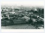 Veduta di Padova dopo un bombardamento