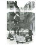 Veduta di Piazza dei Signori (Padova) dopo un bombardamento