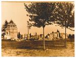 Arcella (Padova): cimitero dopo il bombardamento del 16/12/1943