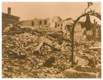 Arcella (Padova) Casa Scaroni dopo il bombardamento del 16/12/1943