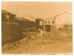 Borgomagno (Padova) dopo il bombardamento del 16/12/1943