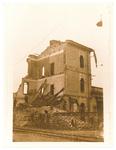 La stazione ferroviaria Padova-Borgomagno  dopo il bombardamento del 16/12/1943