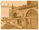 La chiesa dei cappuccini (Padova) dopo il bombardamento del 14/5/1944