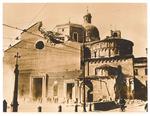 Il Duomo di Padova dopo il bombardamento del 22-23/3/1944