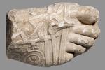 Calco - Piede destro maschile calzato