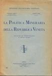 La politica mineraria della Repubblica Veneta