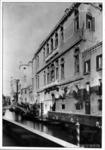 La sede di San Trovaso: facciata sul rio