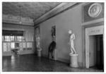 La sede di San Trovaso: il portego al piano nobile
