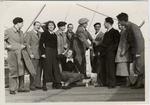 Foto di gruppo sulla nave