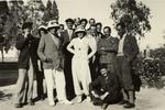 Foto di gruppo durante il viaggio